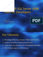 2010 4Feb SQLServer2008ToolForDevelopers - Nicole