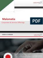 Malomatia Corporate Presentation