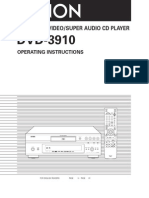 DVD3910 Manual