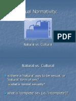 13 - Natural vs Cultural