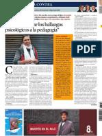 La Contra. La Vanguardia. Noemi Paymal
