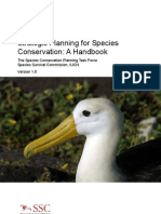 Species Conservation Handbook