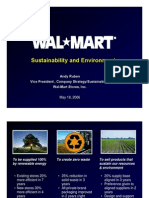 Sustainability Wal Mart