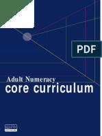 Adult Numeracy