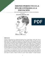 01 EL MATRIMONIO PERFECTO O LA PUERTA DE ENTRADA A LA INICIACION.pdf