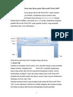 Microsoft Word 2007 Aplikasi