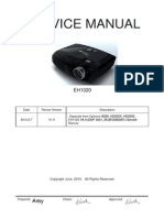Optoma EH1020 V1.0  Service Manual