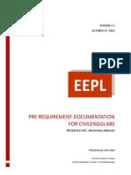 Pre Requirement Documentation - Copy