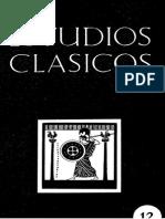 Revista de Estudios Clasicos 012 PDF