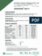 AW191 (Cosmoplene Pp)