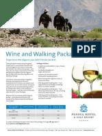 Penina Wine and Walking Brochure