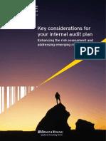 Internal Audit Plan