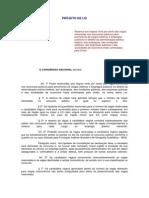 Projeto de Lei 6738-2013 - Cotas Raciais Em Concurso Público Federal