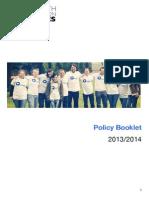 Full Policy Booklet (September 2014)