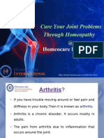 Get Respite From Back, Neck, Joint Pains Through Homeopathy