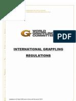International Grappling Regulations