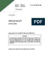 B-GL-392-009 Military Training, Volume 1, Field Craft
