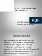 Dermatita Atopica-Pelin Olesea