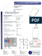 Dts-pcd010-V2-4 Dcs1800 Twin Mimo in-band Combiner