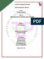 informe de dinamica #2.docx