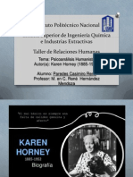 Psicoanalísis Humanista (Karen Horney)