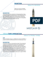 Amm 105mm x617 TK L7 CN105F1 Mecar