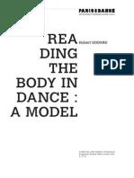 Hubert Godard-Reading the Body in Dance (1)