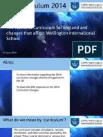 national curriculum changes september 2014 parent event sept 18 2014 final