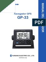 GP33 Manual Del Operador en Español