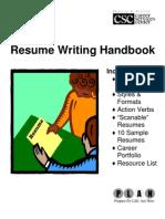Resume Handbook