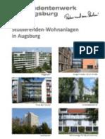 Studierenden-Wohnanlagen des Studentenwerks Augsburg in Augsburg