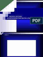 Seminário - Redes Sociais Potencialidades Para Gestão e Práticas Educativas