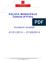 Incidenti 2014 Fino Agosto