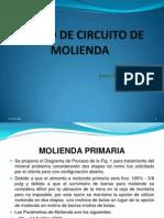 Diseño de Circuito de Molienda Convencional-001