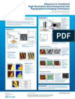 Advances in Combined High-Resolution Electrochemical and Topographical Imaging Techniques