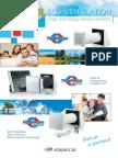 Single-room Energy Recovery Ventilators