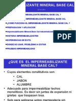 Presentacion Impermeabilizante Mineral Base Cal 20121016