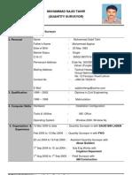 Copy of CV-Sajid