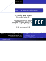 Aula5-1 - Propriedades Dos Gases