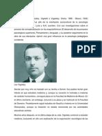 Lev Vigotsky. Escarlet Ochoa.