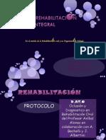 Protocolo en Rehabilitación