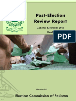 Post Election Review Report