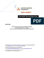 wp2014-066Size and economies of scale in higher education and the implications for mergers