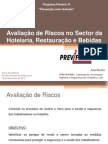 Avaliaçao Riscos Setor Hotelaria