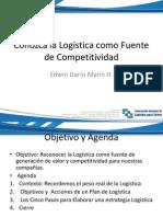 edwin marn - conozca la logstica como fuente competitiva