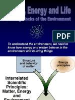 Matter Energy Life