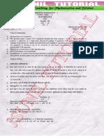 9th  sa-1 original maths question paper cbse board 2014-1mk