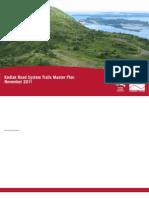 kodiak road system trails master plan