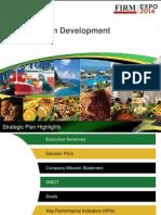 firm expo strategic plan development
