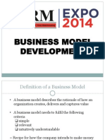 firm expo business model development